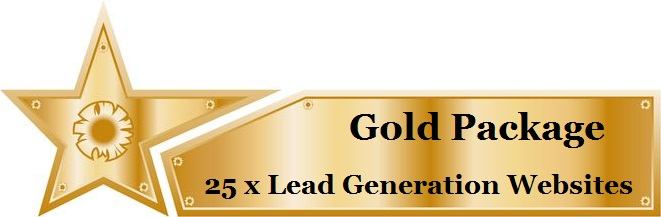 Gold Lead Generation Websites Package